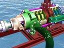 长沙中联泵业公司自平衡多级泵动画 (184播放)