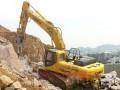 力士德SC485.8挖掘机移山填海显神威
