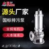 304/316铸造排污泵 污水处理厂专用不锈钢大流量潜水泵